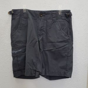 Life is Good- Grey/Blue Cargo Shorts